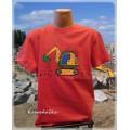 tričko dětské s bagrem 2