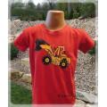 tričko dětské s bagrem 3