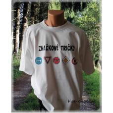 tričko značkové