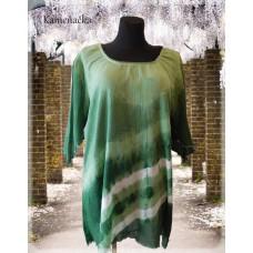 tunika fáčovinová zelená duha