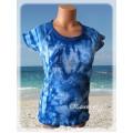 modrá batika