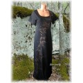šaty s bronzovou malbou do vel. 7XL