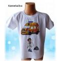 dětské tričko s lékařem a sanitkou