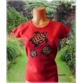 tričko dámské s želvami