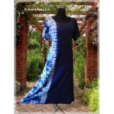 batikováné šaty č.2- barva dle přání